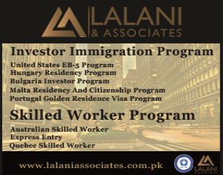 Lalani Associates       Skilled Worker Program